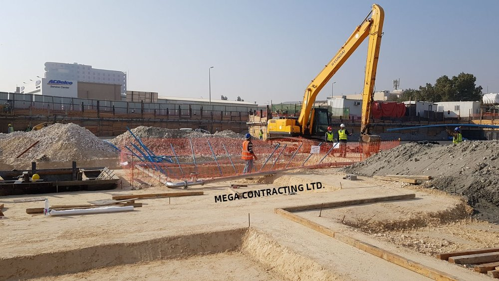 Long Boom Excavator