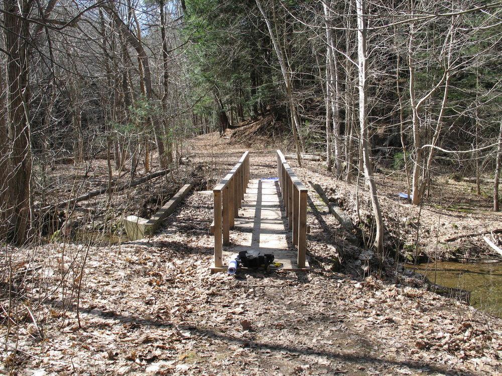 Kentville Ravines Trail Bridge No. 2