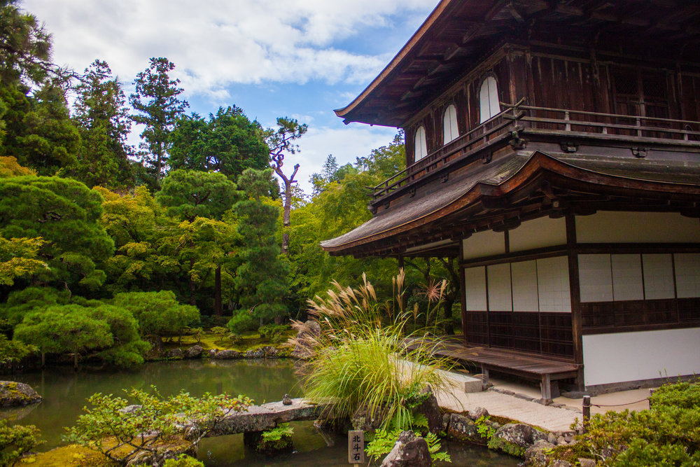 A Guide of Ginkaku-ji, The Silver Pavilion