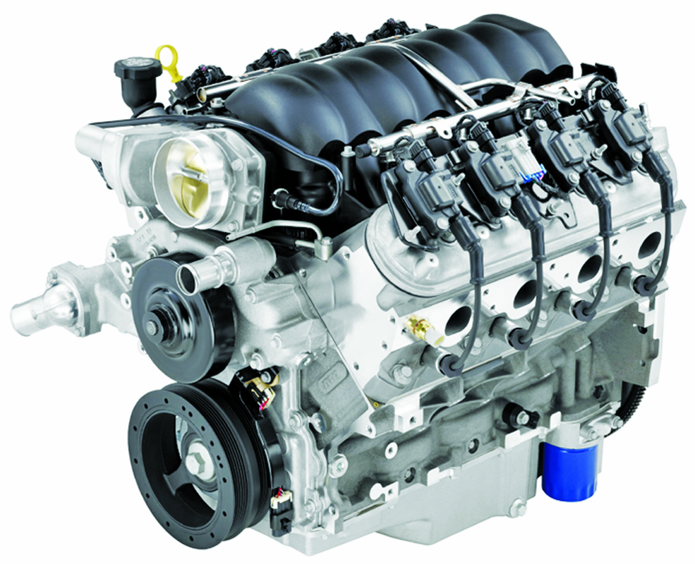 "New ""LS3"" GM 6.2L V8 Marine Engine 418 Horsepower PN: 6200"