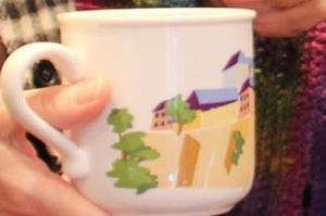 Photo of cup of coffee at Newcomers Event on October 24th