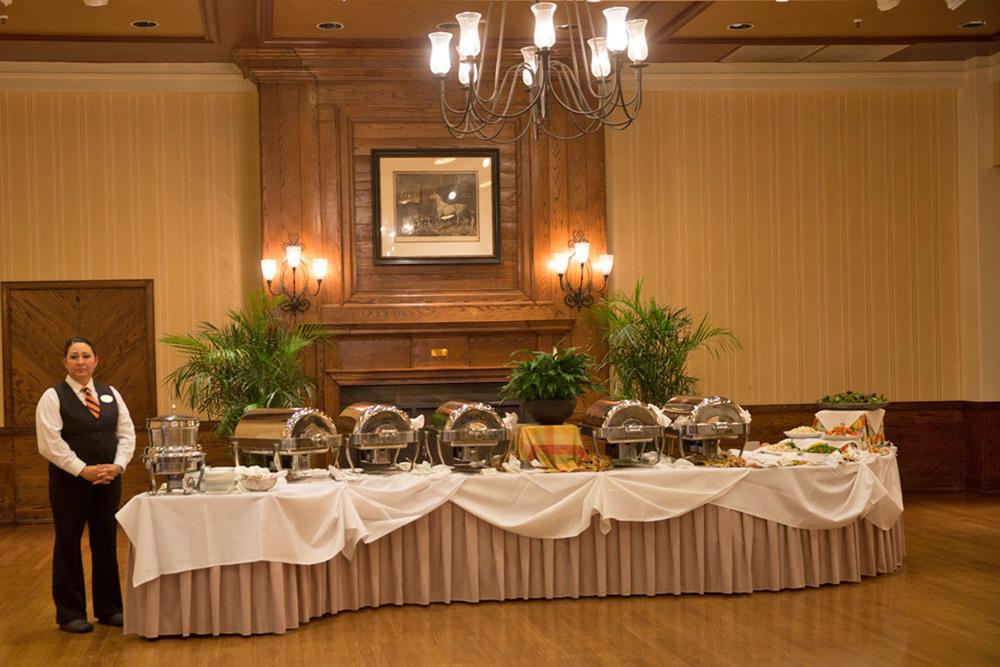 [Buffet Luncheon at Boar's Head Inn, Charlottesville, Virginia]