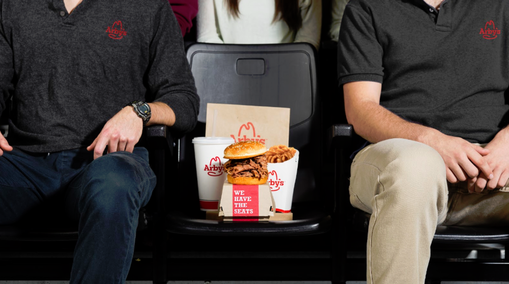 A sandwich with its chaperones.