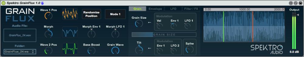 Spektro GrainFlux 1.0
