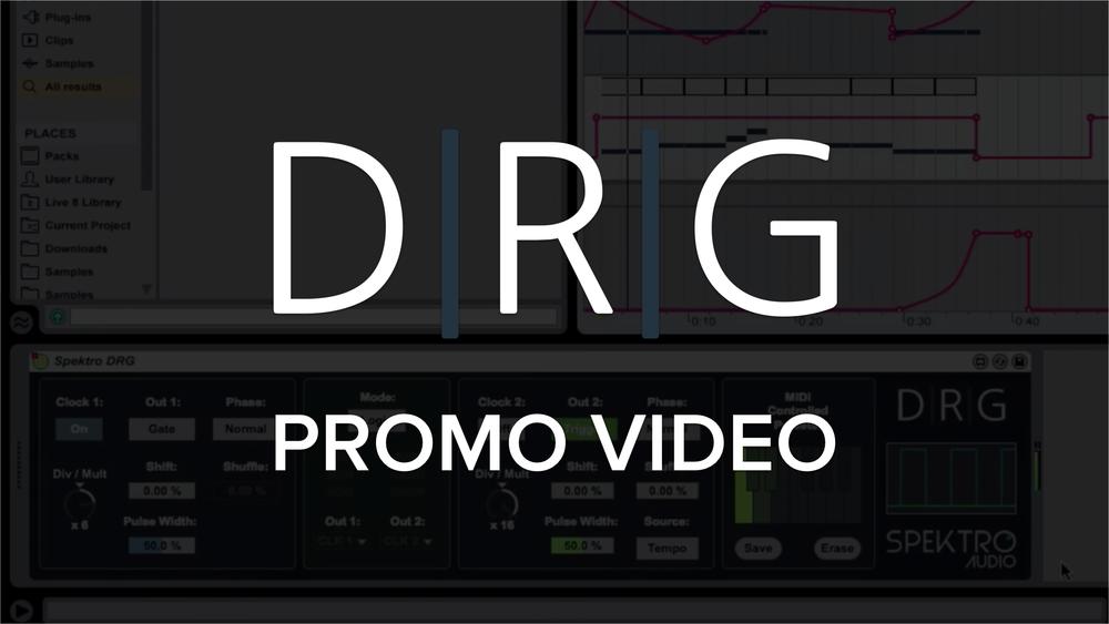 DRG | Dual Rhythm Generator — Spektro Audio