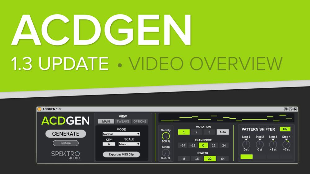 ACDGEN — Spektro Audio