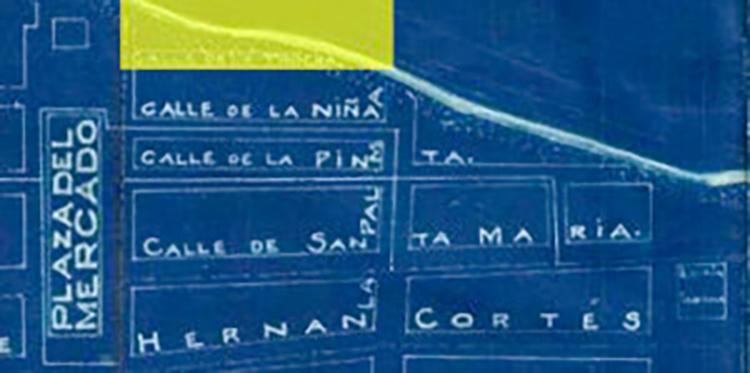 Figura 1:   Acercamiento plano de Arecibo, 1919. (Archivo Digital Nacional de Puerto Rico).