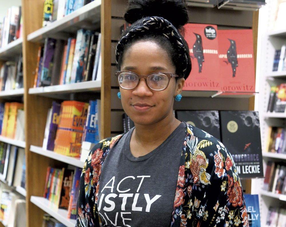 Bethany C. Morrow, author of Mem