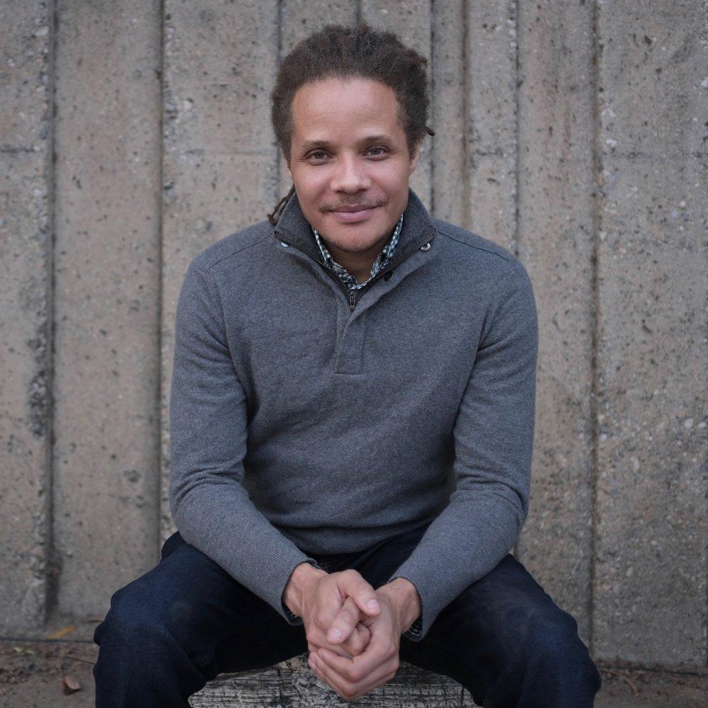 Jamel Brinkley, author of A Lucky Man. Photo credit Arash Saedinia