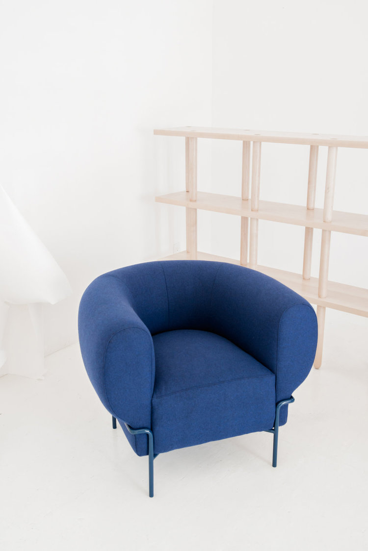 A Contemporary Interpretation of the Classic Club Chair