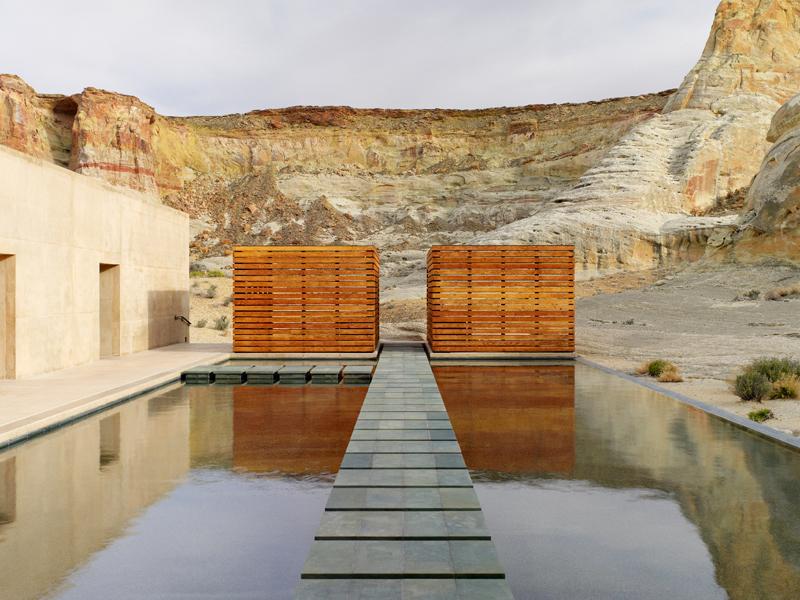 Amangiri Resort - Modern Architecture Phoenix - Wendell Burnette