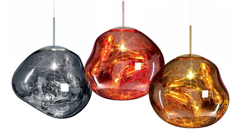Tom Dixon Modern Lighting Phoenix - Melt Pendant - For The People Phoenix