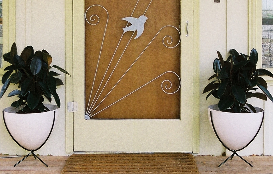 hip haven- mid century modern planters phoenix arizona