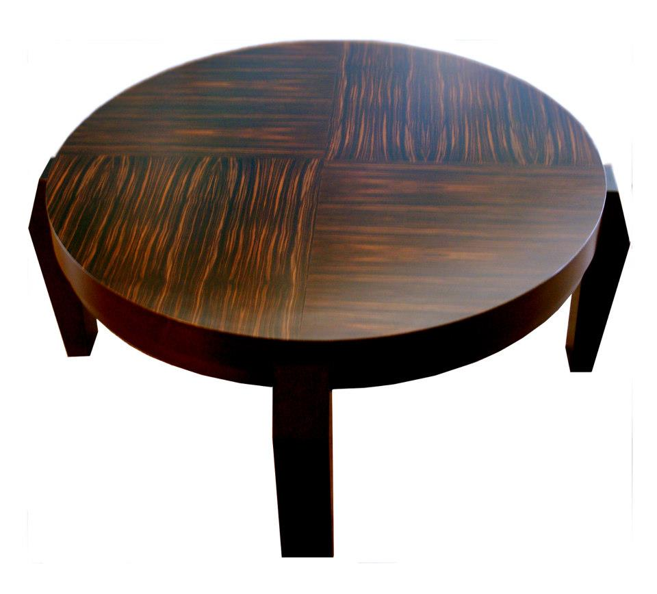 "Cubist Coffee Table 16""H x 47""Dia"