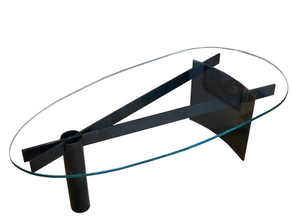"Tatlin Coffee Table 26""W x 16""H x 62""Dia"