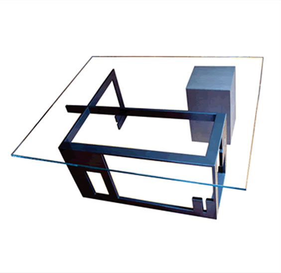 "Malevich Coffee Table 48""W x 15""H x 48""D"