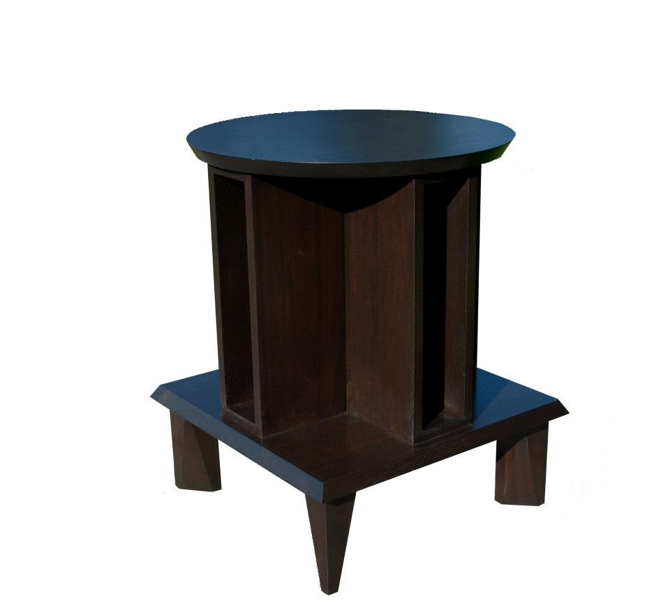 "Pressburg Side Table 21""W x 26""H x 21""D"