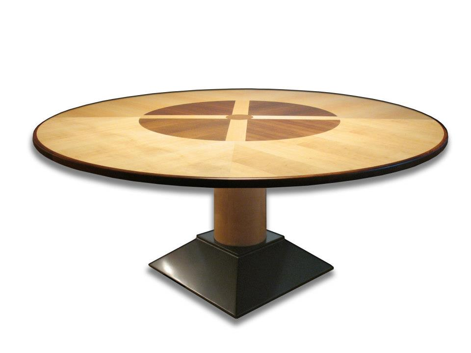 """Stockholm Dining Table 30""""H x 76""""Dia"""