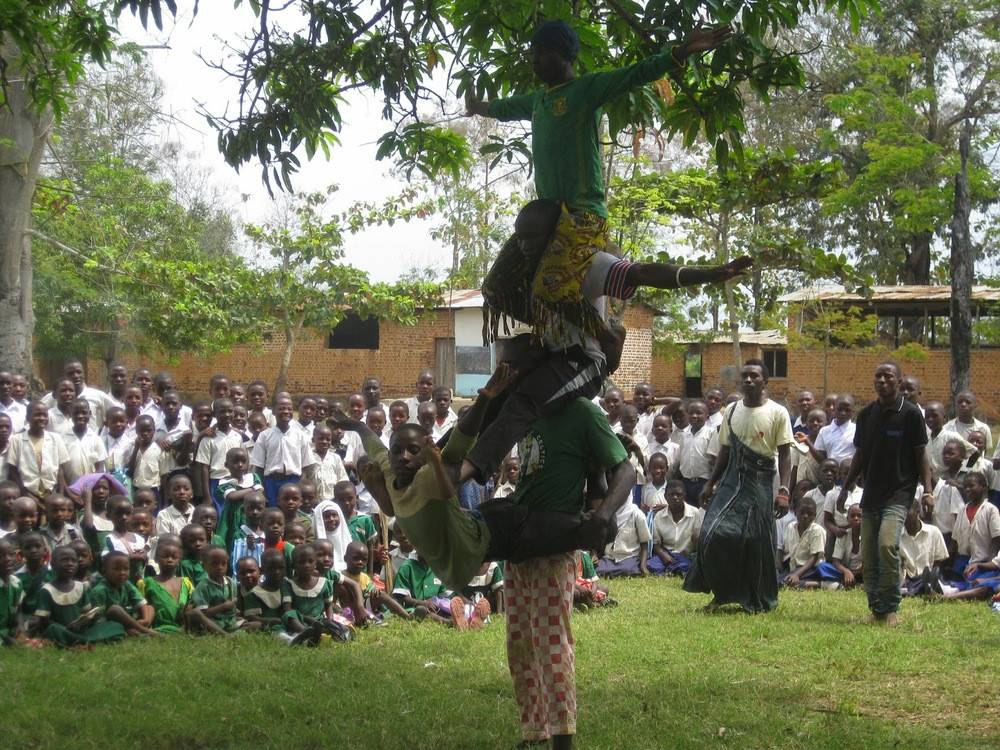 SWASHE members performing during the launching day