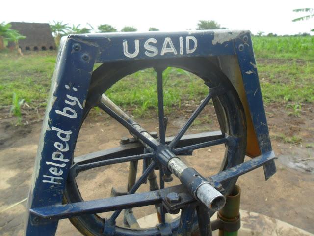 rope pump appropriate technology WASH, rural tanzania, kilombero