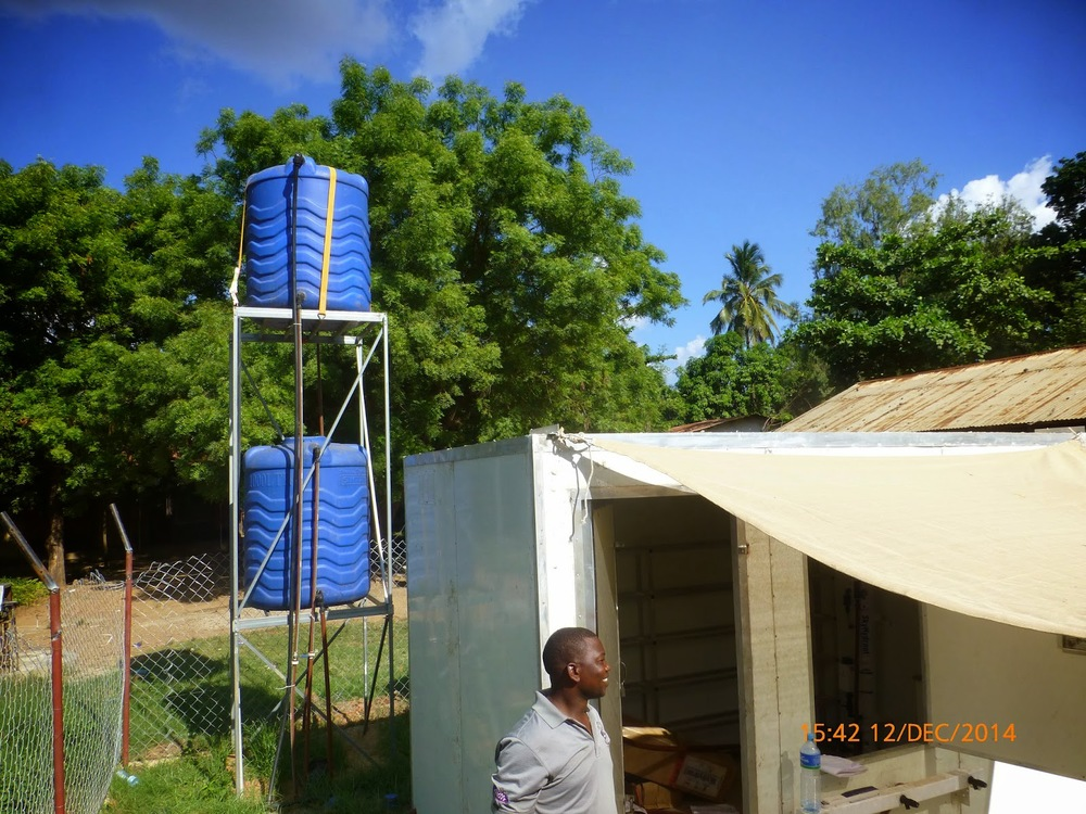 Photo 6: Sky Juice Water Kiosk facility approaching final stages of construction