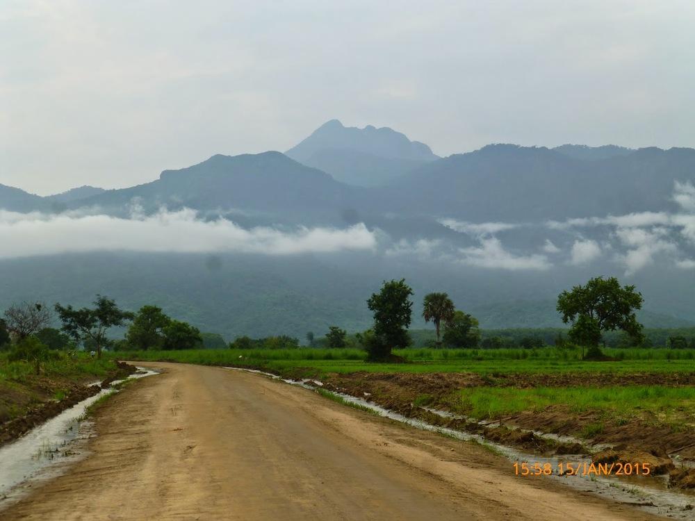 Photo 8: Rains on the Udzungwa Range