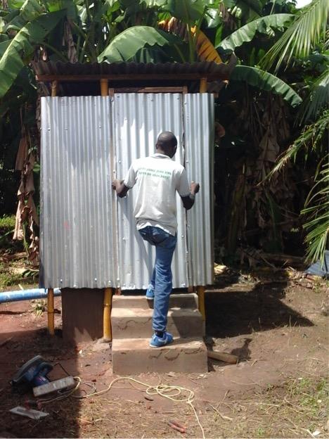 MSABI latrine being finalized
