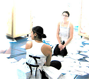 Charlie Levin and Natalie Brewster Nguyen performing  SecondPlace  at PAC/Edge Performing Arts Festival, Chicago, 2004