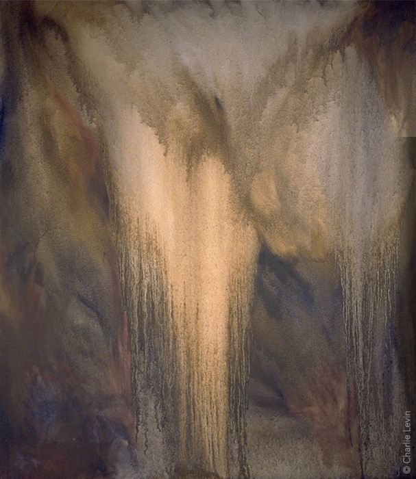 Implicit Angels OIl on canvas / 26 x 30 inches  Photo by Kevin Anderson
