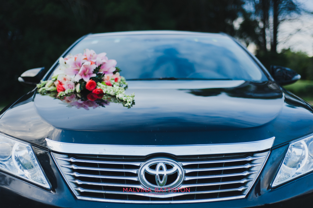 bodas decoracion auto