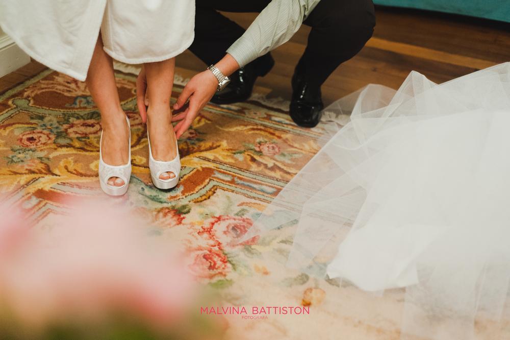 moda novias zapatos