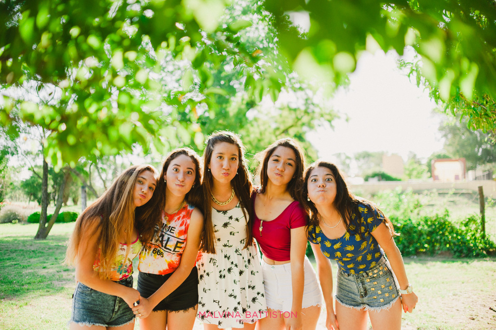 fotos de 15 con amigas