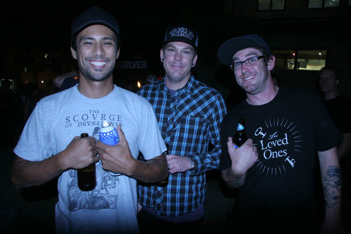 Randy Noborikawa, Eric Williamson and Corey Kopp