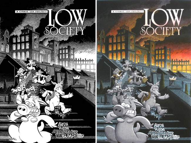 Low Society dual cover