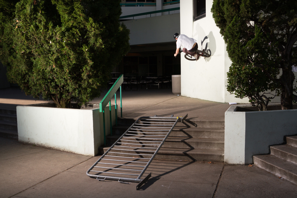 Alex Platt BMX Wallride