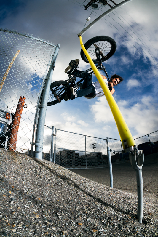 Mike Mastroni Wire Wallride