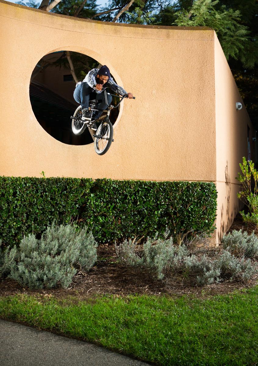 Sean Morr BMX Hop Through