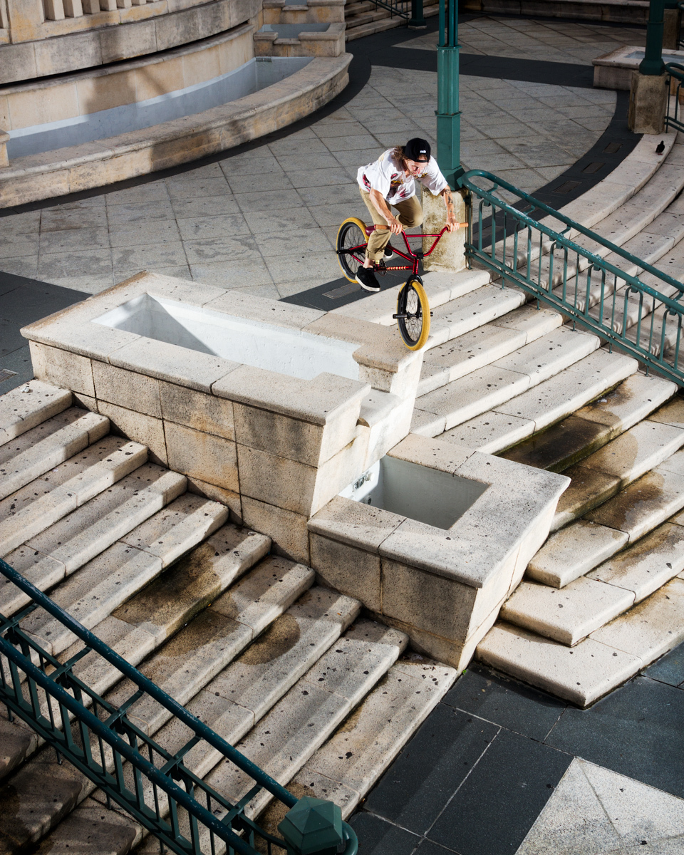 Tony Malouf Nose Bonk BMX