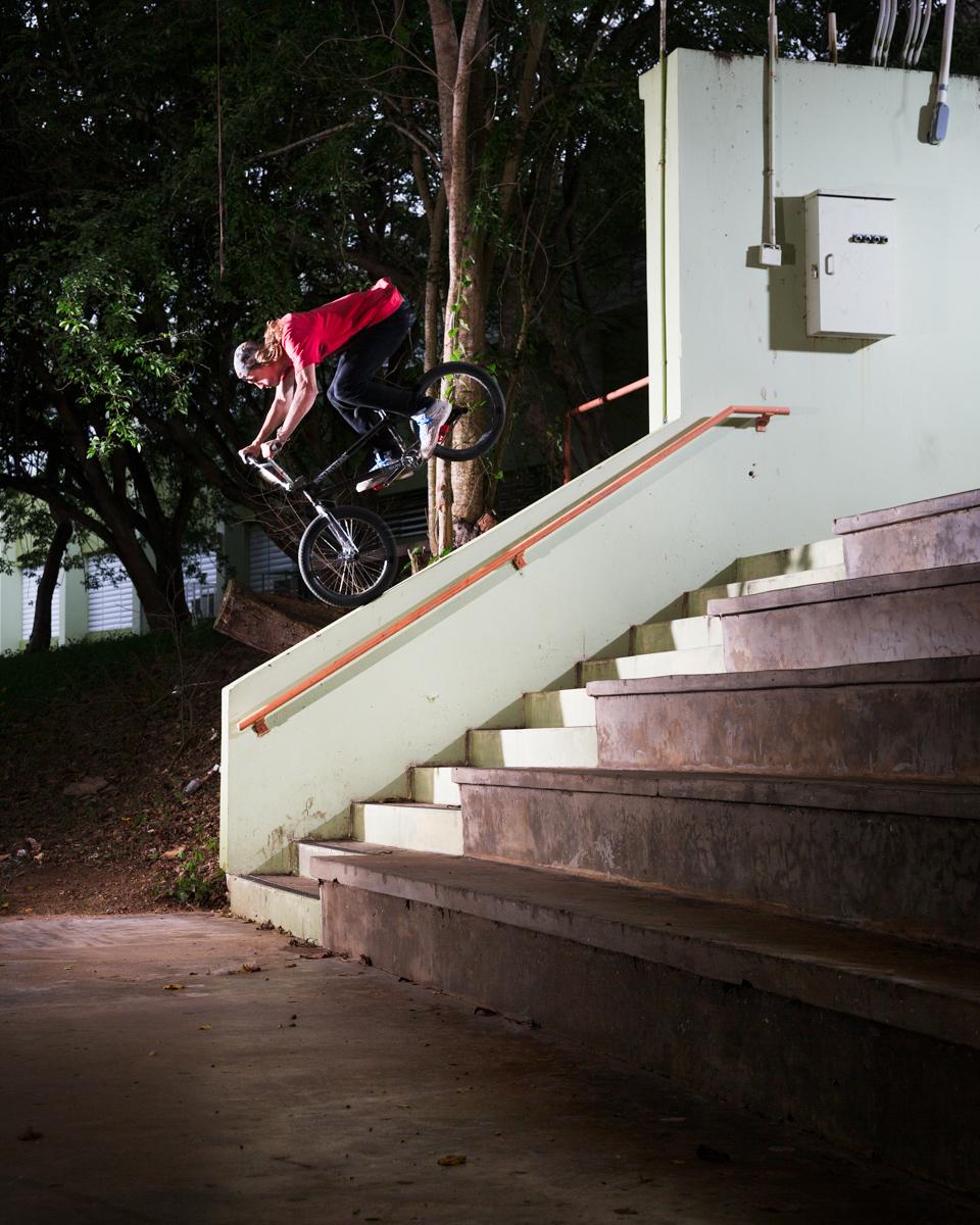 Reed Stark Nose Hang BMX