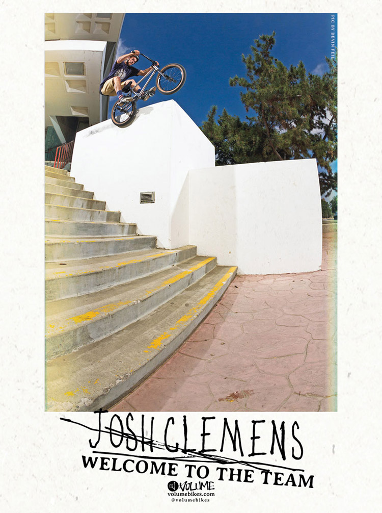 Josh Clemens Volume Bikes