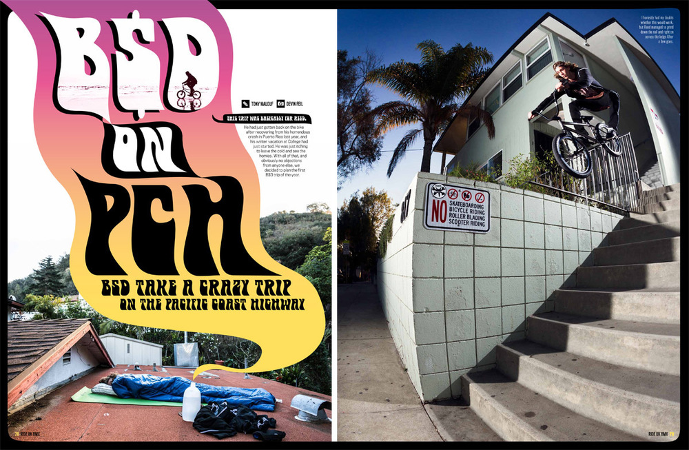 BSD On PCH Article - RideUK 187