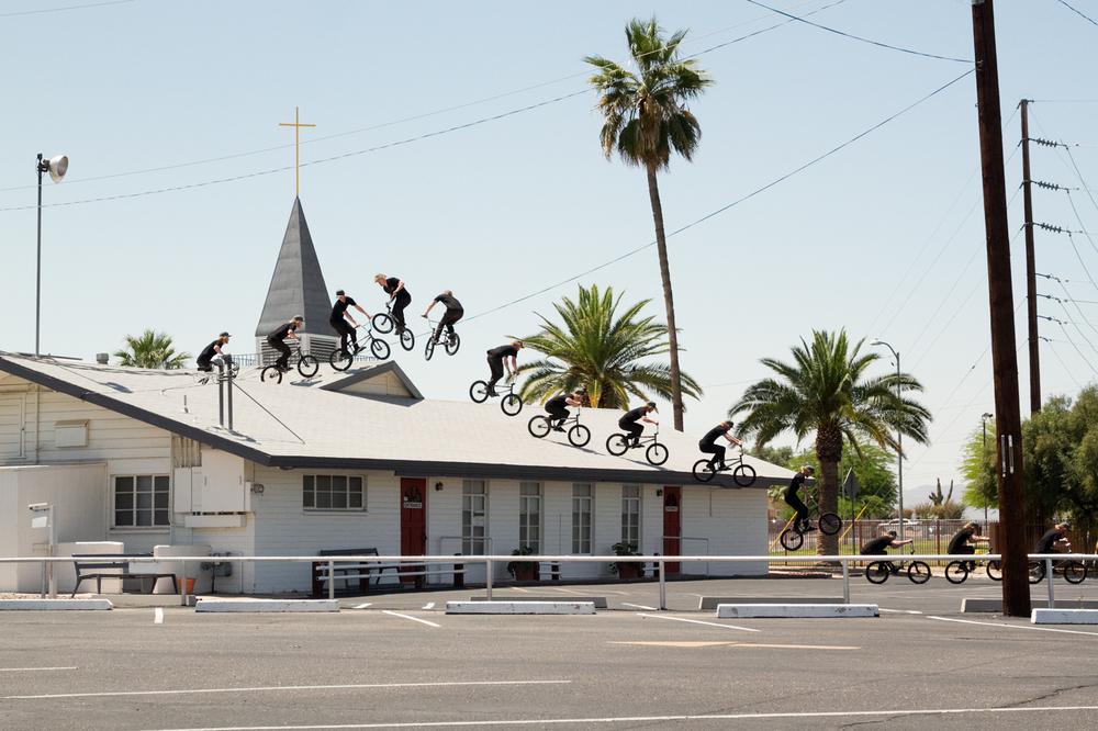 Josh Eilken BMX Roof 360