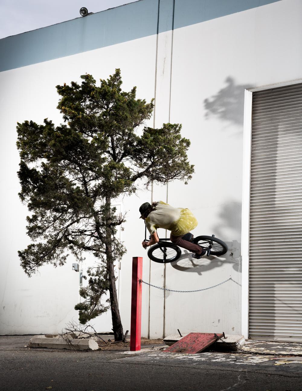 Mike Mastroni BMX Wallride