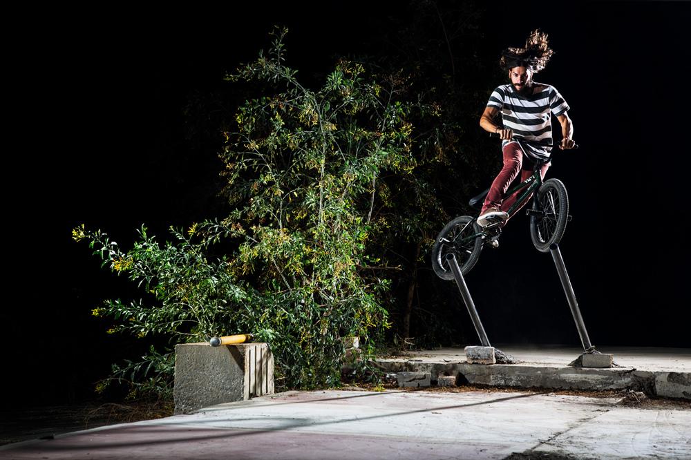 Mike Mastroni DIG BMX Polejam Tireslide