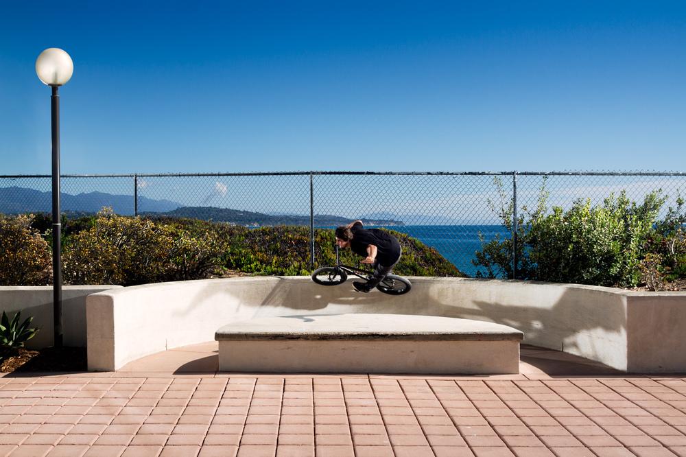 Nick Castillo DIG BMX One Handed Curved Wallride