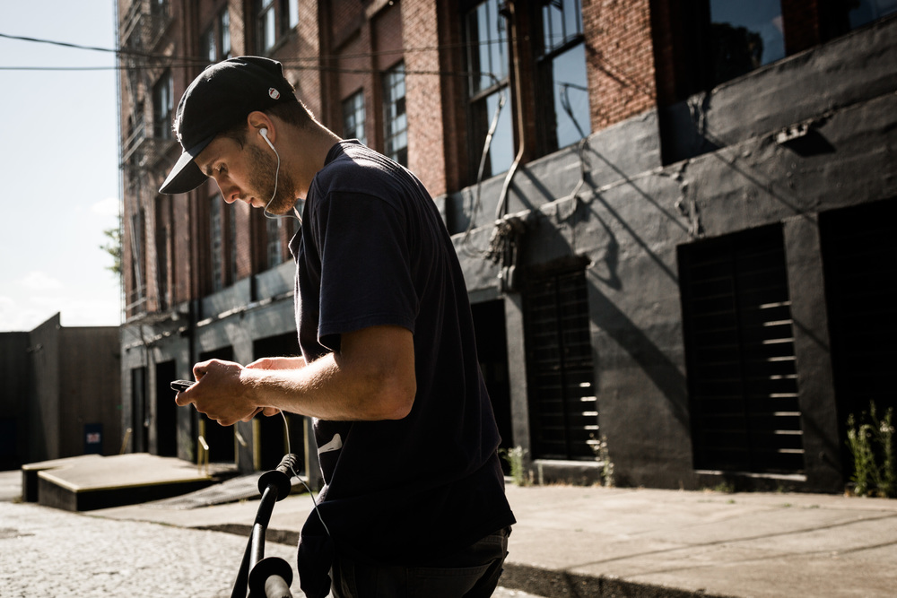 Billy Perry Volume Portland DIG BMX Headphones