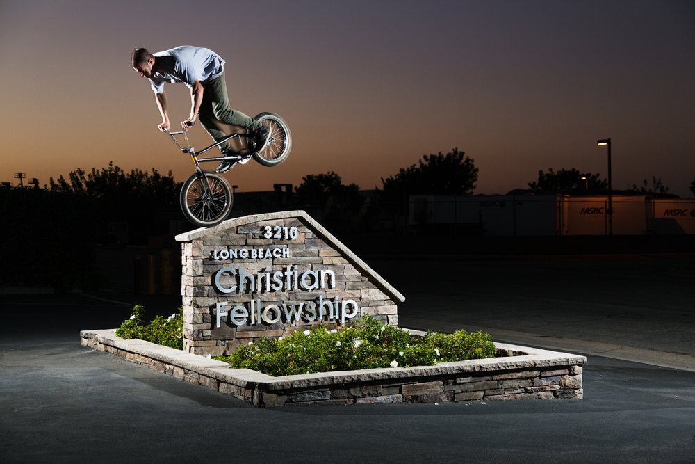 Morgan Long Nose Manual BMX