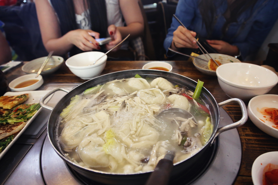Gaesong Dumplings cooked in Casserole (개성만두전골) ₩30,000