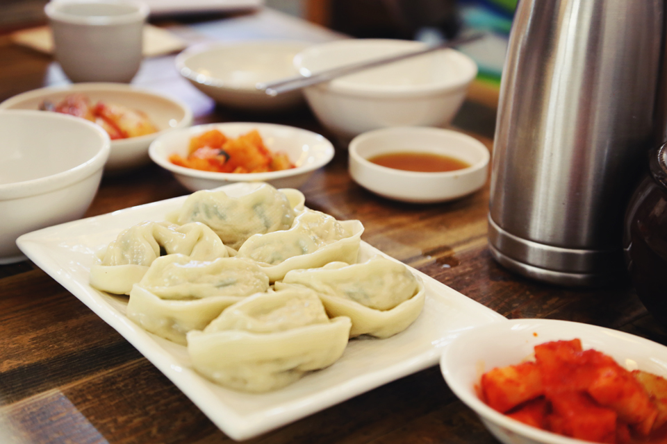 Gaesong Steamed Dumplings (개성만두찜) ₩7,000