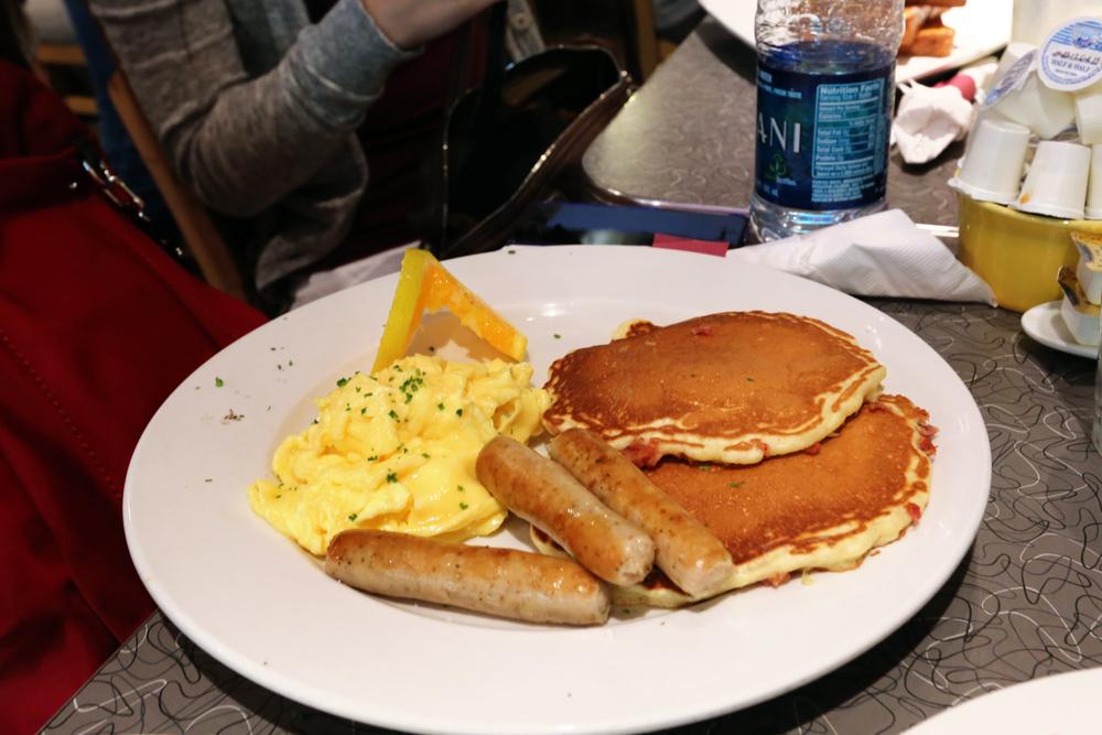 Sweet 'N' Salty Pancake Platter